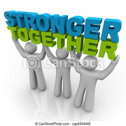 levage, -, plus fort, mots, ensemble - csp4304445