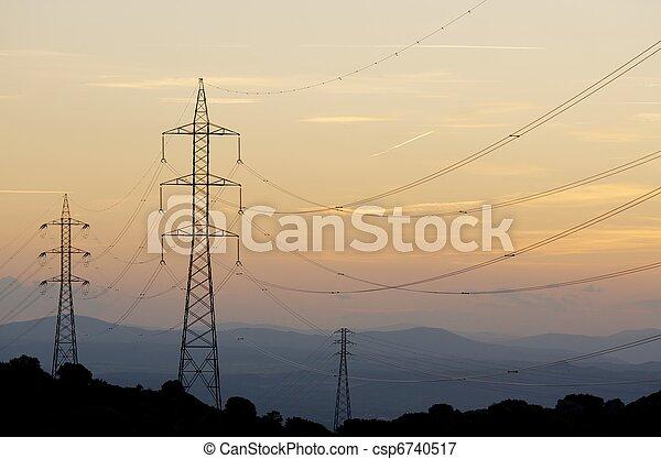 ligne, puissance - csp6740517
