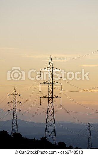 ligne, puissance - csp6740518