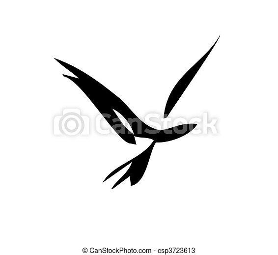 lisser, oiseau - csp3723613