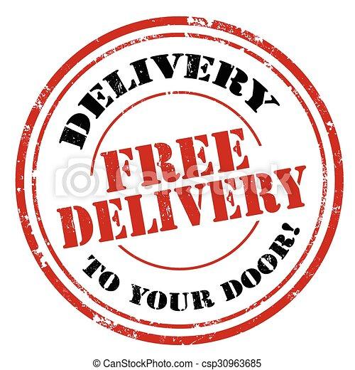 livraison, gratuite - csp30963685
