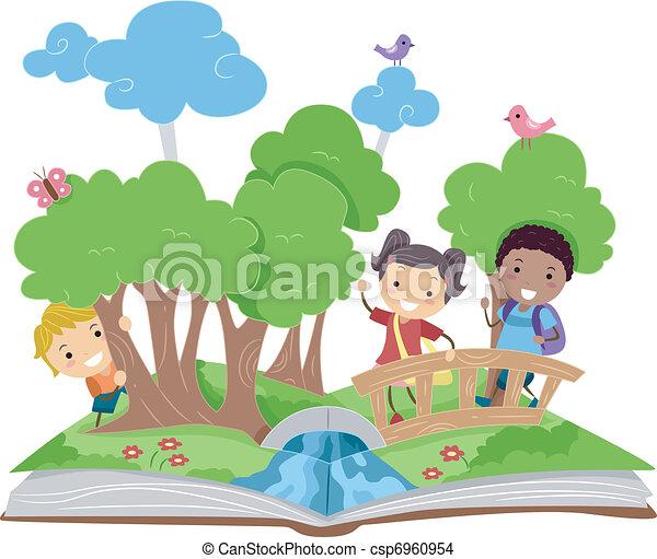 livre, haut, pop - csp6960954