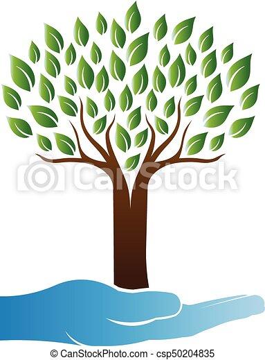 logo, arbre, soin - csp50204835