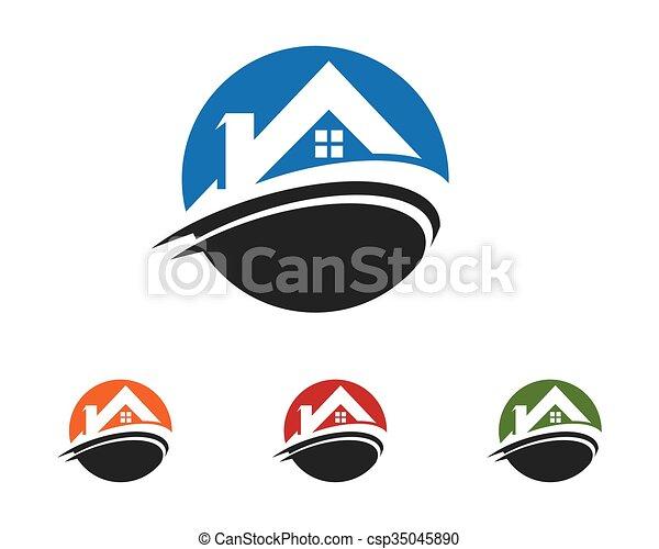 logo, gabarit, propriété - csp35045890