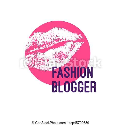 logo, mode, blogger - csp45729689