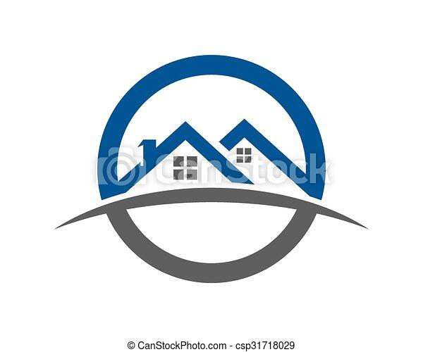 logo, propriété, gabarit - csp31718029