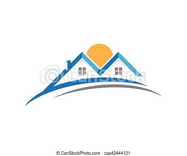 logo, propriété, gabarit - csp42444121