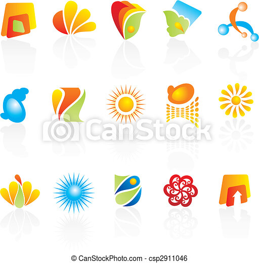 logos, compagnie, conception - csp2911046