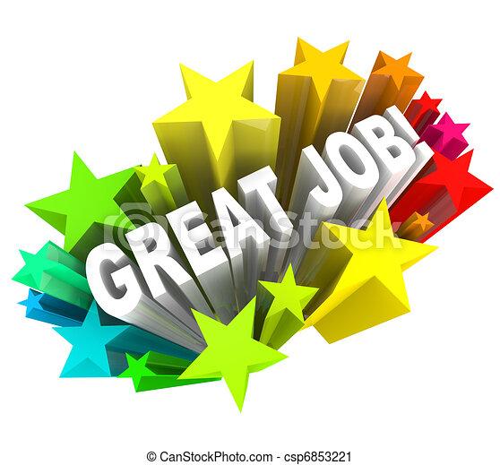 louer, grand, but, réussi, accompli, métier, mots - csp6853221