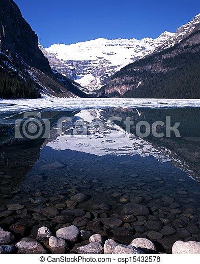 louise, national, park., lac, banff - csp15432578
