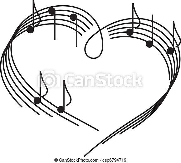 love., musique - csp6794719