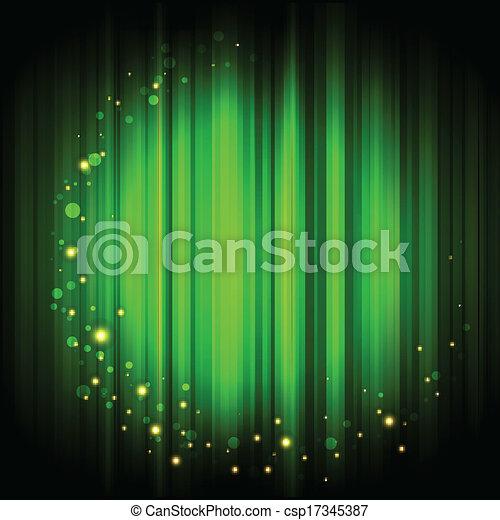 lumière, résumé, fond, or - csp17345387