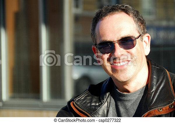 lunettes soleil, homme - csp0277322