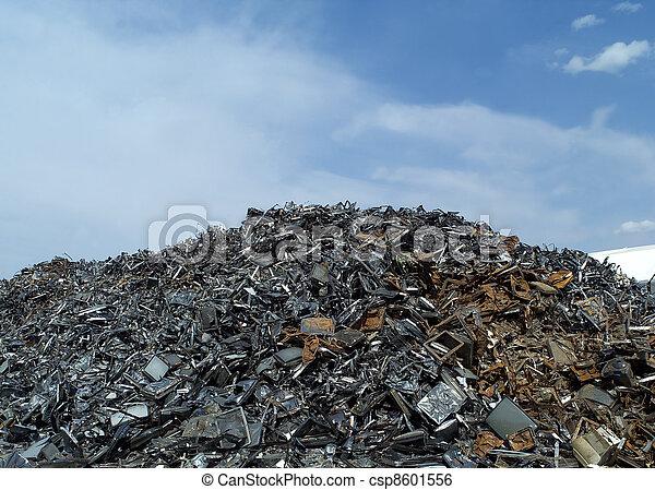 métal, déchets - csp8601556