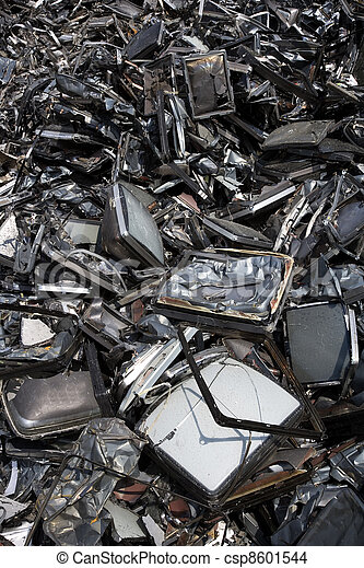 métal, déchets - csp8601544