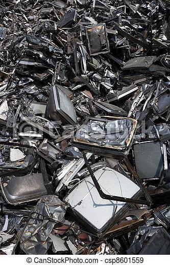 métal, déchets - csp8601559