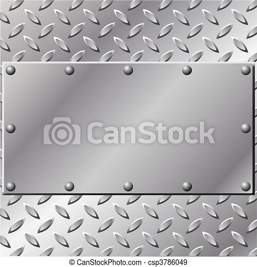 métal, fond - csp3786049