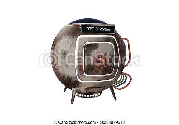 machine, capsule, temps - csp33979510