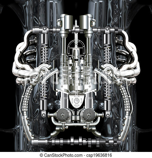 machine, temps - csp19636816