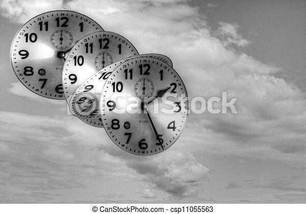 machine, temps - csp11055563