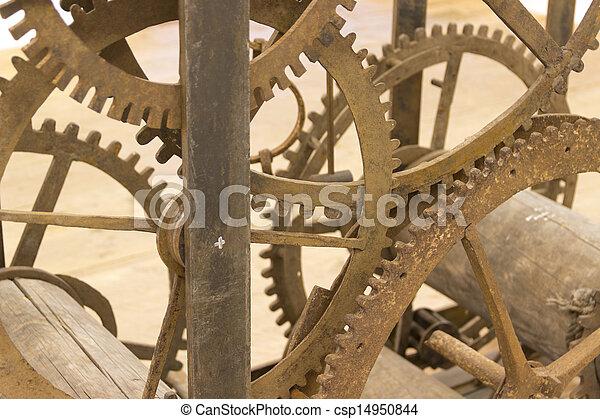 machine, temps - csp14950844