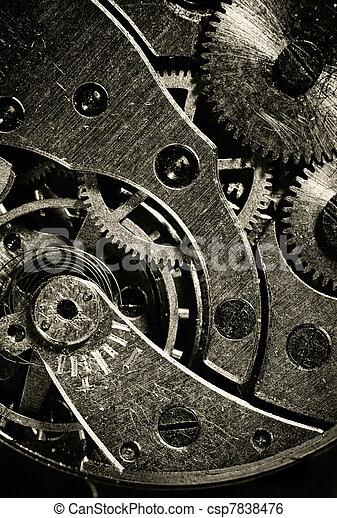 machine, vendange, intérieur, temps, vue - csp7838476