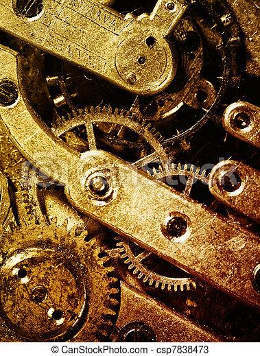 machine, vendange, intérieur, temps, vue - csp7838473