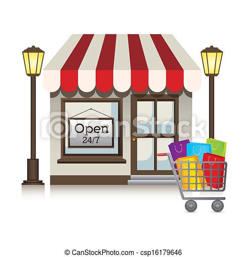 magasin - csp16179646