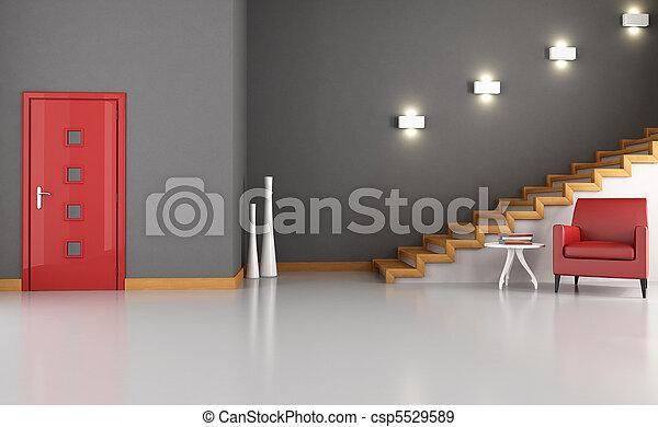 maison, entrée - csp5529589