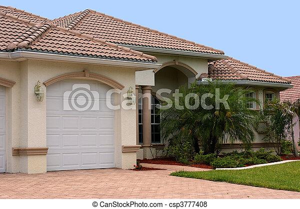 maison, floride - csp3777408