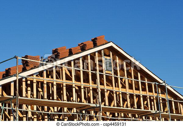 maison, nouveau, construction, sous - csp4459131