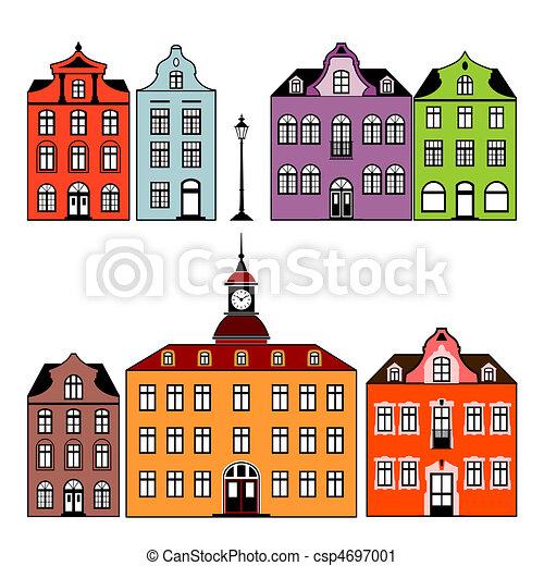maisons - csp4697001