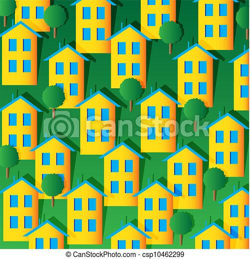 maisons - csp10462299