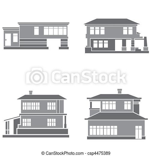 maisons - csp4475389