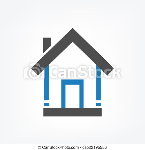 maisons, fond - csp22195556