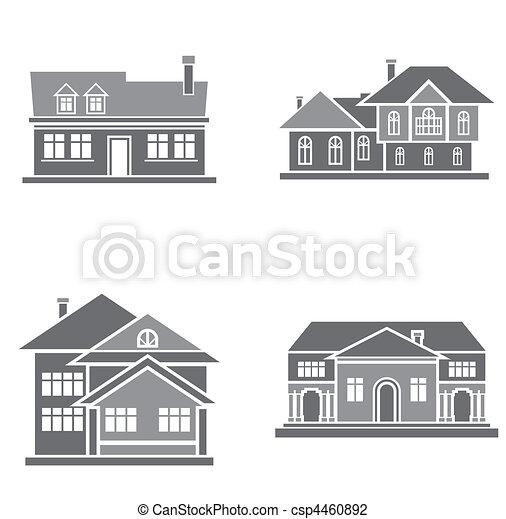 maisons - csp4460892