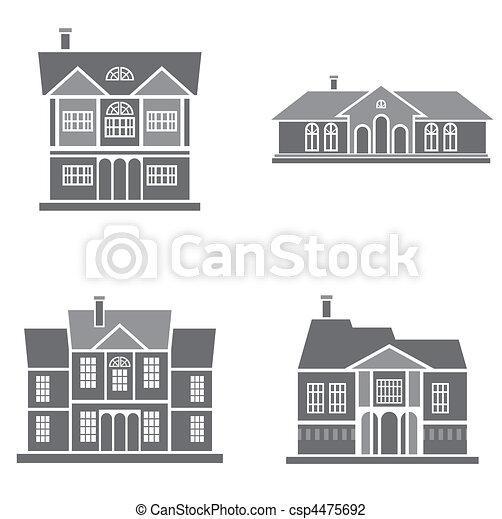 maisons - csp4475692