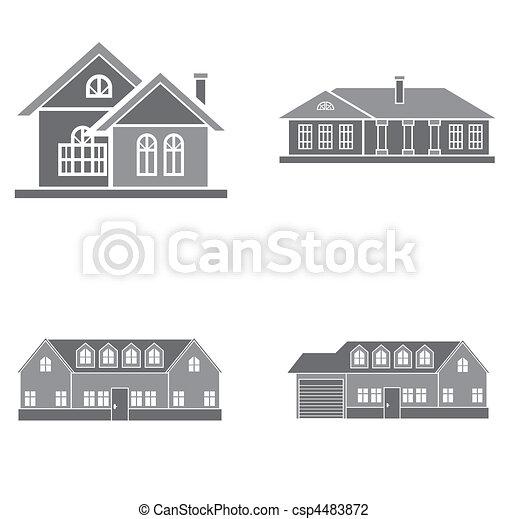 maisons - csp4483872