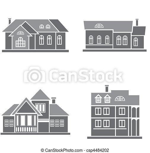 maisons - csp4484202