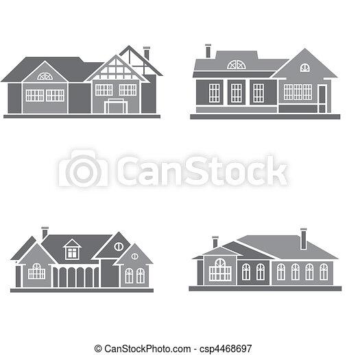maisons - csp4468697