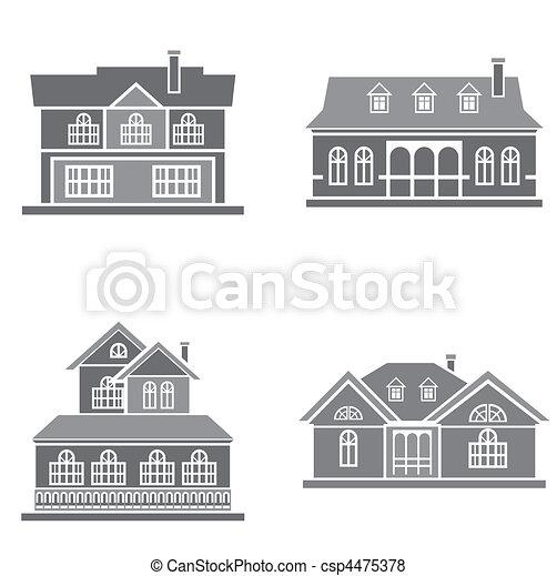 maisons - csp4475378