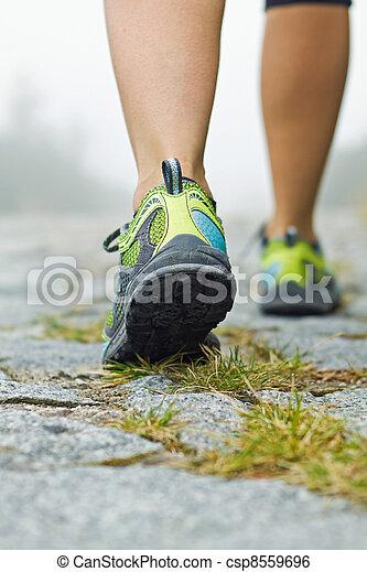marche, exercice - csp8559696