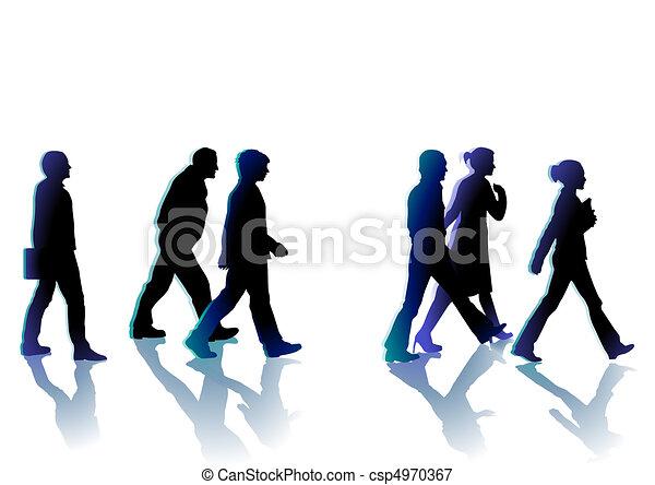 marche, gens - csp4970367