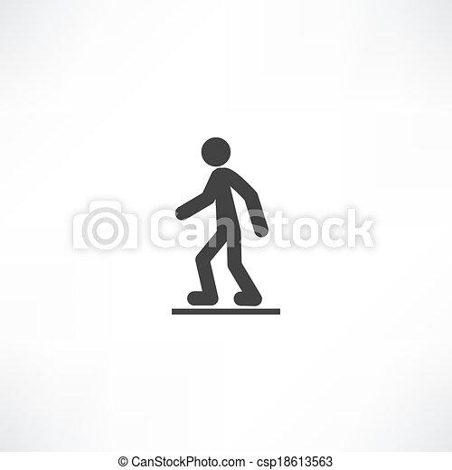 marche, homme - csp18613563