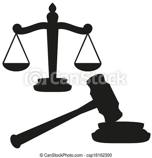 marteau, balances, justice - csp16162300