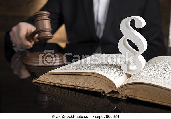 marteau, droit & loi, justice, thème, tribunal, paragraphe, maillet - csp67668824