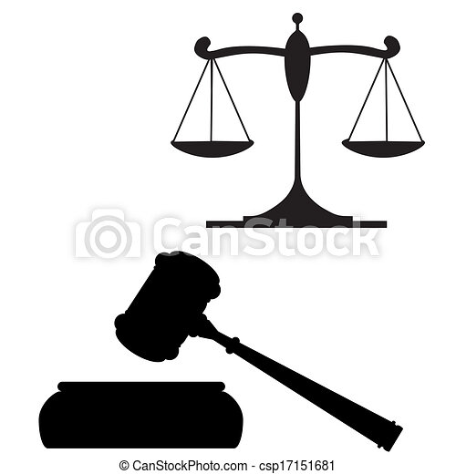 marteau, justice, balances - csp17151681