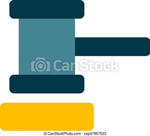 marteau, tribunal - csp47957533