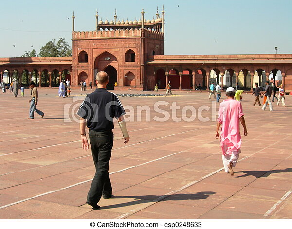 masjid, jama - csp0248633