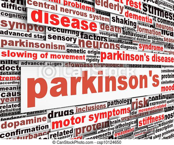 message, conception, maladie, parkinson's - csp10124650